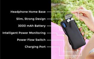 Supplemental Li Polymer Battery LP495979 3000mAh for AirPods