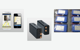 Li Polymer Battery LP864880 3.7V 4000mAh for wireless mobile video solutions