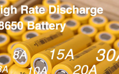 High Rate Discharge 18650 Battery