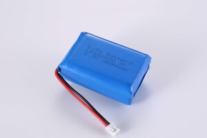 2P1S Li Polymer Battery LP103450 3.7V 3600mAh with connector