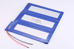 3S1P Li Polymer Battery LP3264158 11.1V 4200mAh