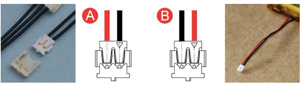 Battery Connector JST ACHR-02V-S