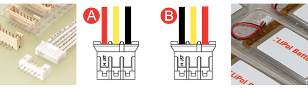 Battery Connector JST PHR-3