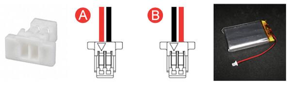 Battery Connector JST SHR-02V-S-B