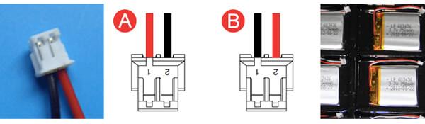 Battery Connector JST ZHR-2