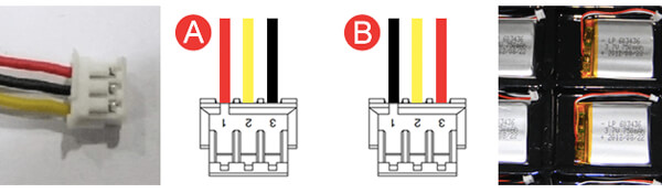 Battery Connector JST ZHR-3