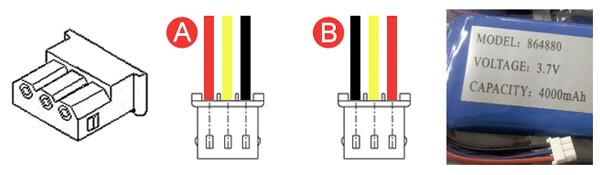 Battery Connector Molex 50-37-5033 (5264-03)