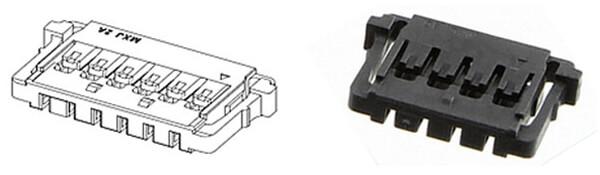 Battery Connector Molex 504051-0401