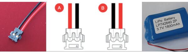 Battery Connector Molex 78172-0002