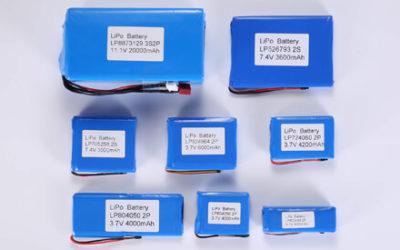 Customized Li Polymer Battery Pack