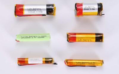 Cylindrical & Columnar Li Polymer Battery