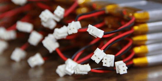 li polymer battery connector