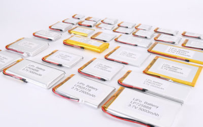 3.7V Li Polymer Battery Thickness From 10.0mm to 14.0mm