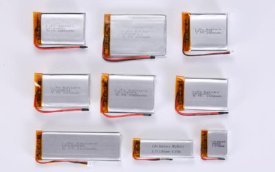 3.7V Li Polymer Battery Thickness From 3.0mm to 3.9mm