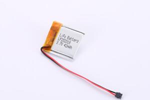 Li Polymer Battery LP202018 with Molex 51021-0200 connector