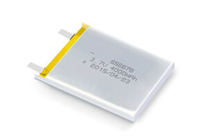 Li Polymer Battery LP656678 3.7V 4000mAh without protection circuit, without wires