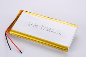 Li Polymer Battery LP9960115 3.7V 10000mAh with protection circuit and wires