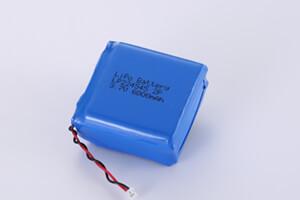 Li Polymer Battery Pack LP224545 2P 3.7V 6000mAh