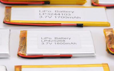 3.7V Standard Li Polymer Battery 10000mAh+