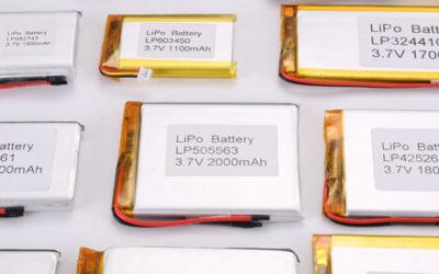 3.7V Standard Li Polymer Battery 4000mAh+