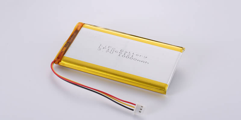 LP1066121 3.7V 10000mAh with NTC and JST XHP-3(A) Connector