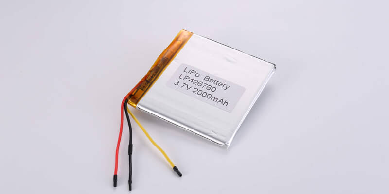 LP426760 3.7V 2000mAh with NTC and wires