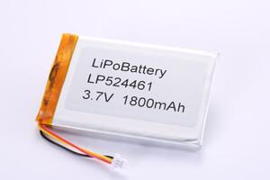 LP524461 3.7V 1800mAh