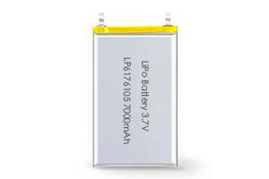 Li Polymer Battery LP6176105 3.7V 7000mAh