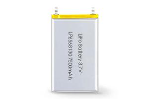 Li Polymer Battery LP6568130 3.7V 7500mAh