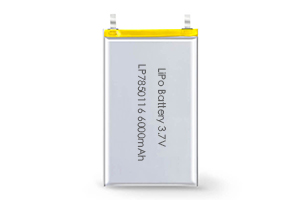Li Polymer Battery LP7850116 3.7V 6000mAh