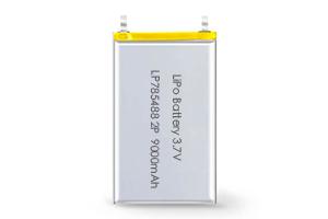 Li Polymer Battery LP785488 2P 9000mAh