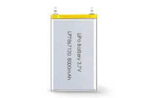Li Polymer Battery LP7867120 3.7V 8000mAh