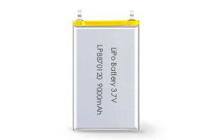 Li Polymer Battery LP8870120 3.7V 9000mAh