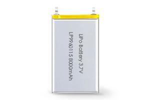 Li Polymer Battery LP9960115 3.7V 8000mAh