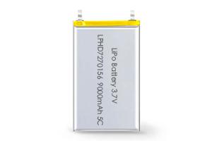 Li Polymer Battery LPHD7270156 5C 3.7V 9000mAh