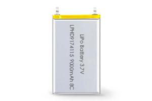 Li Polymer Battery LPHD9174115 8C 3.7V 9000mAh