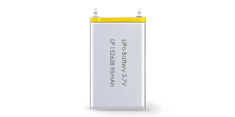 Lithium Polymer Battery LP152638 3.7V 95mAh with PCM