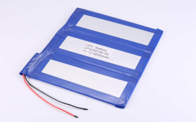 11.1V Rechargeable Li Polymer Battery LP3264158 3S1P 4200mAh With PCM and Wires