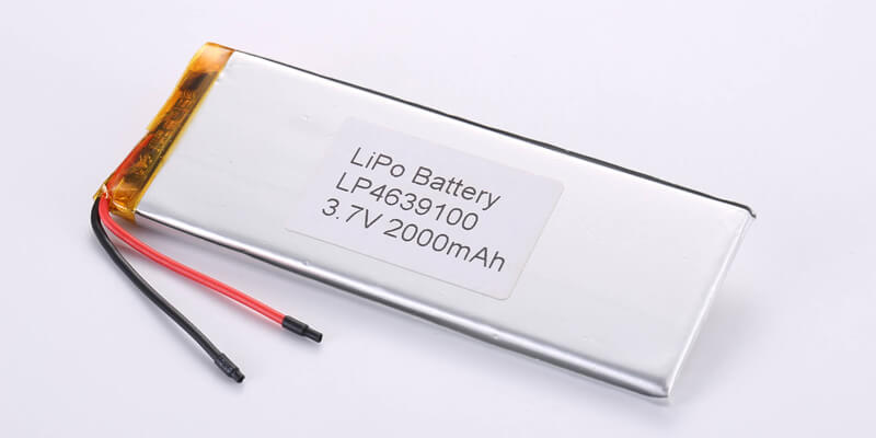 Li Polymer Battery LP4639100 3.7V 2000mAh