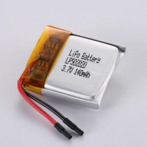 Li Polymer Battery LP502020 3.7V 140mAh