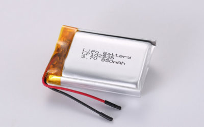 3.7V Rechargeable Li Polymer Battery LP102535 850mAh With PCM and Wires