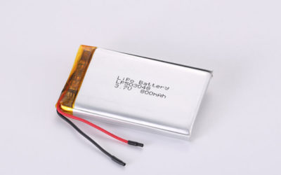 3.7V Rechargeable Li Polymer Battery LP503048 800mAh With PCM and Wires