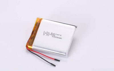 3.7V Rechargeable Li Polymer Battery LP603943 1000mAh With PCM and Wires