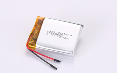 3.7V Rechargeable Li Polymer Battery LP703035 700mAh With PCM and Wires