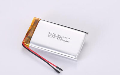 3.7V Rechargeable Li Polymer Battery LP703048 1150mAh With PCM and Wires