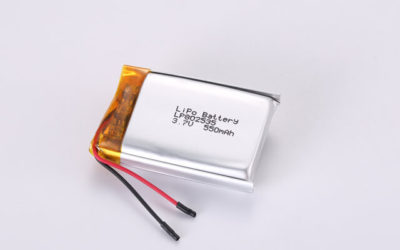 3.7V Rechargeable Li Polymer Battery LP802535 550mAh With PCM and Wires