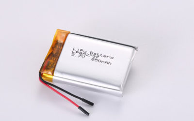 3.7V Rechargeable Li Polymer Battery LP852737 850mAh With PCM and Wires