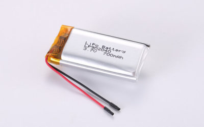 3.7V Rechargeable Li Polymer Battery LP902040 700mAh With PCM and Wires