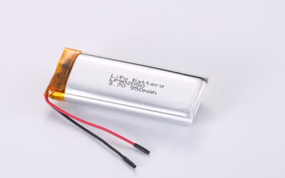 3.7V Rechargeable Li Polymer Battery LP902050 950mAh With PCM and Wires