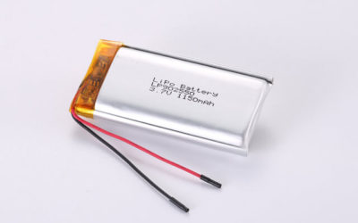 3.7V Rechargeable Li Polymer Battery LP902550 1150mAh With PCM and Wires